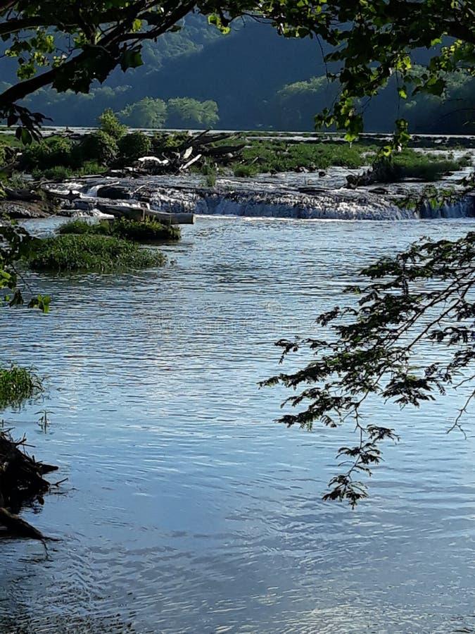 nedgångsandsten West Virginia fotografering för bildbyråer