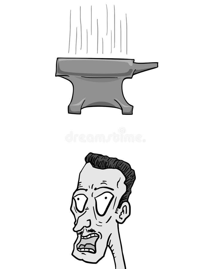 Nedgångstäd vektor illustrationer