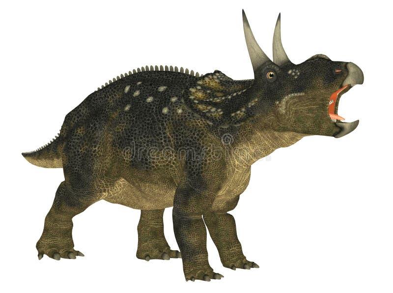 Nedoceratops ilustração do vetor