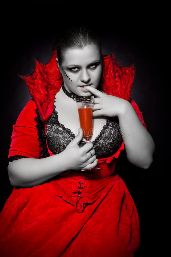 Download Need for blood stock image. Image of dress, decollete - 14356143