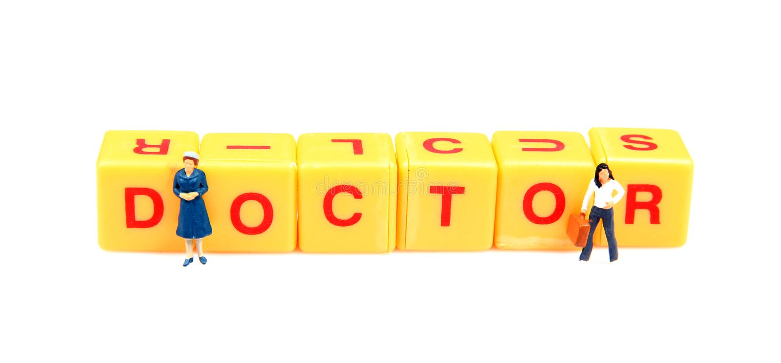 Need Doctor Royalty Free Stock Photo