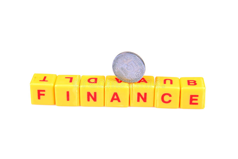 Need Finance Royalty Free Stock Image
