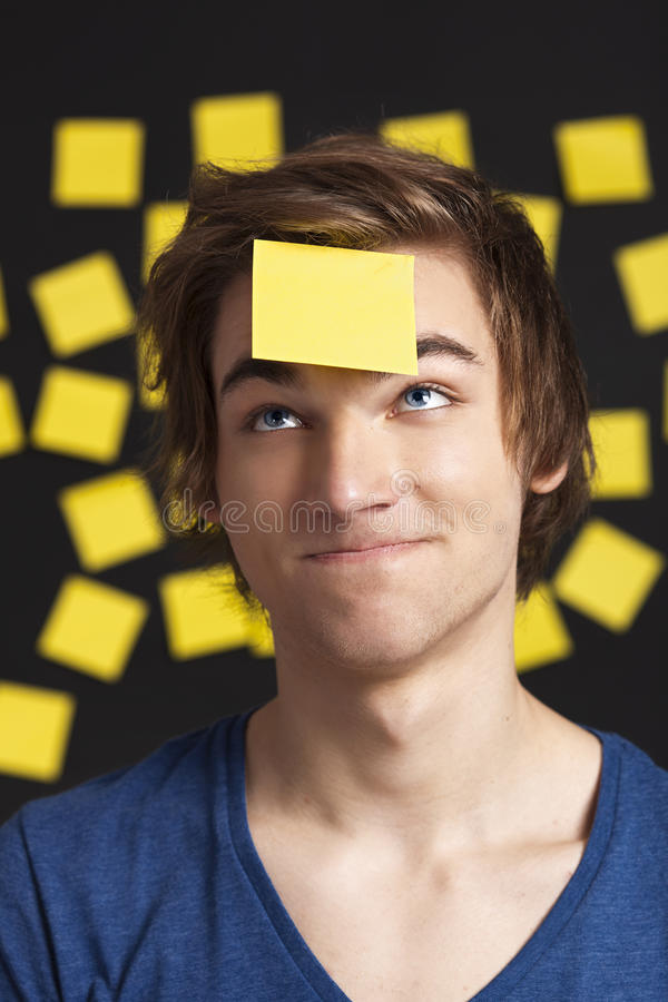 Download Need a reminder stock photo. Image of black, lifestyle - 23689300
