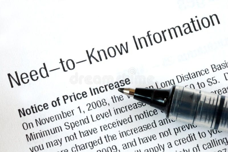 Need to know information stock photos