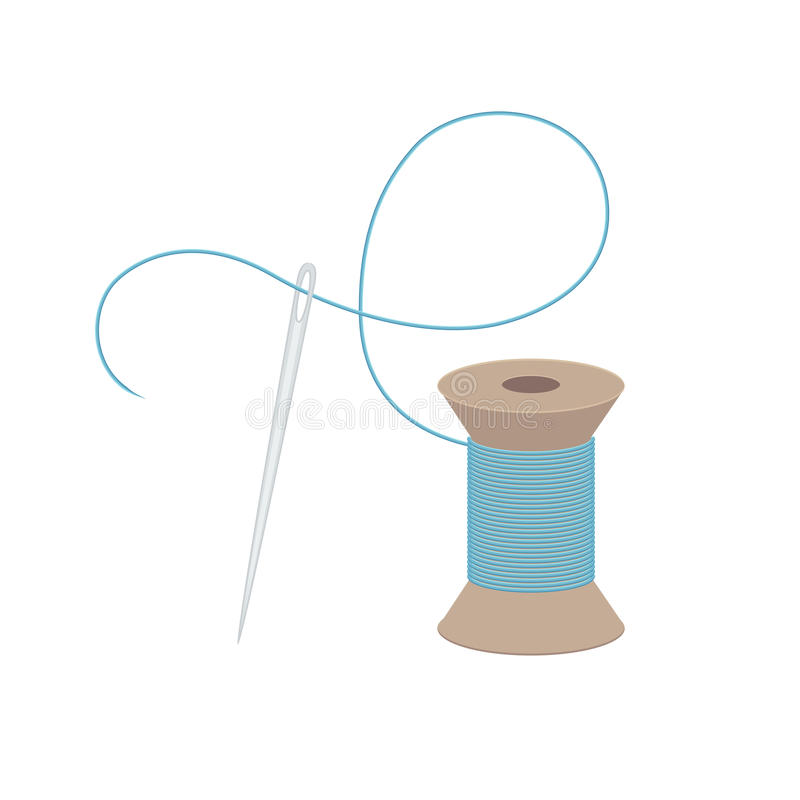 Free Needle And Thread Stock Images - 53227284