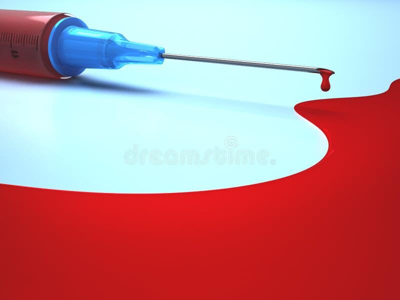 Needle Blood Royalty Free Stock Image