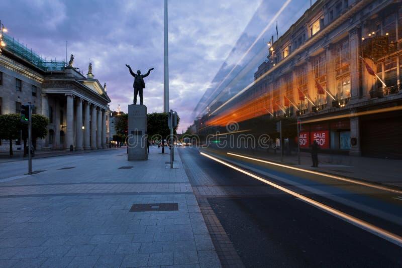 The needle in Dublin, Ireland stock photo
