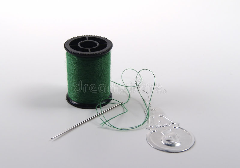 Download Needle and Thread stock photo. Image of clothing, colors - 8210