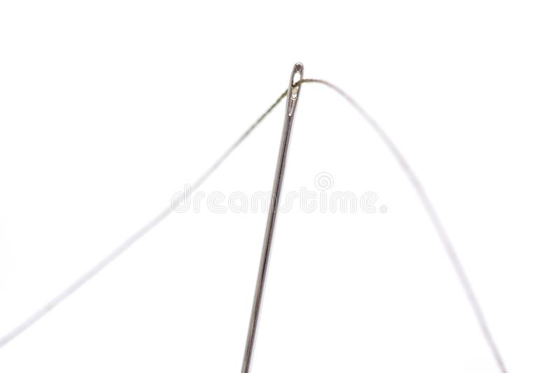Needle With Thread royalty free stock photography