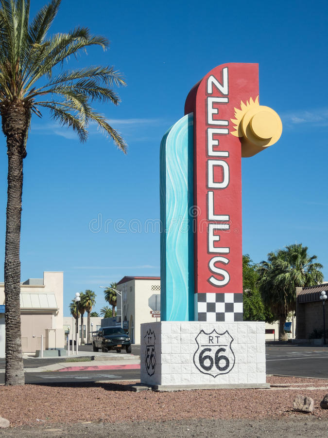 Needles, California stock photo