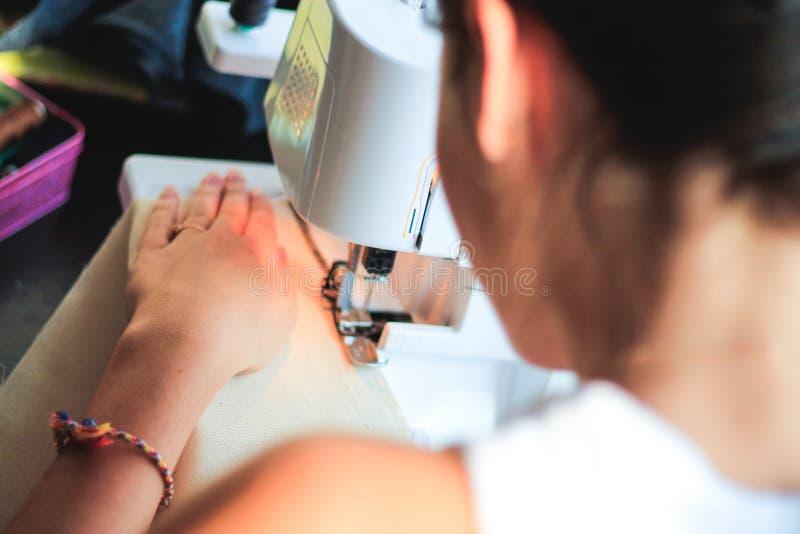 needlewoman zdjęcie royalty free