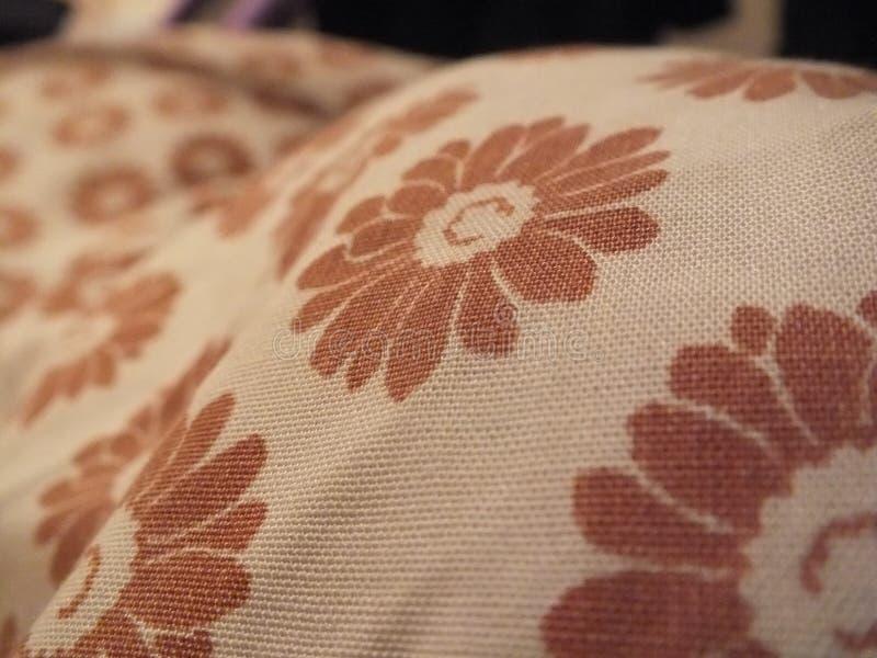 Пинк, ткань, Needlework, материал стоковое изображение rf