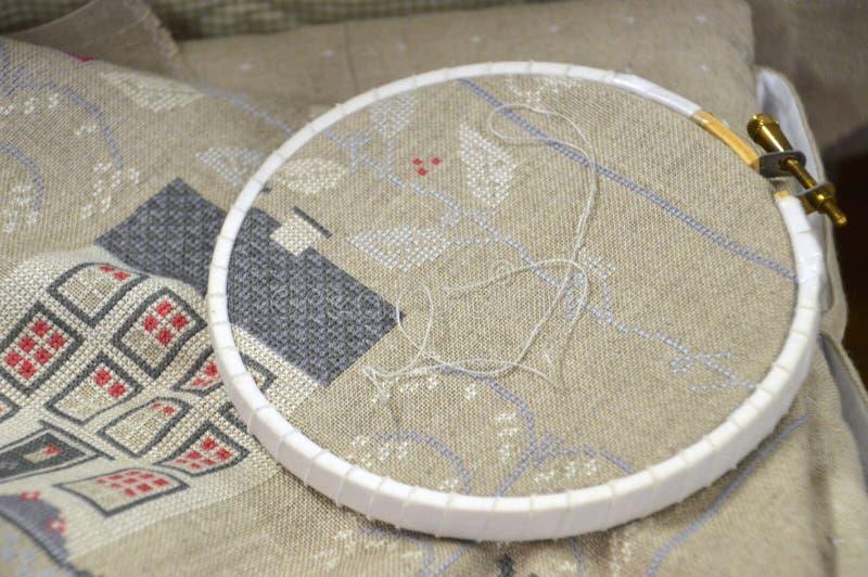 Продукт, Needlework, настил стоковые фото