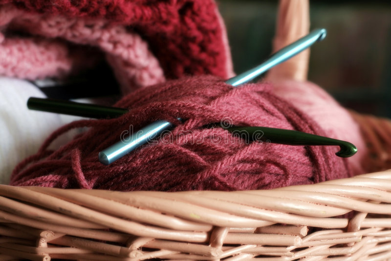 needlework arkivbild