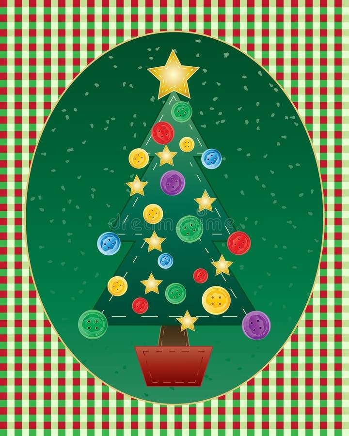 Needlework do Natal ilustração stock