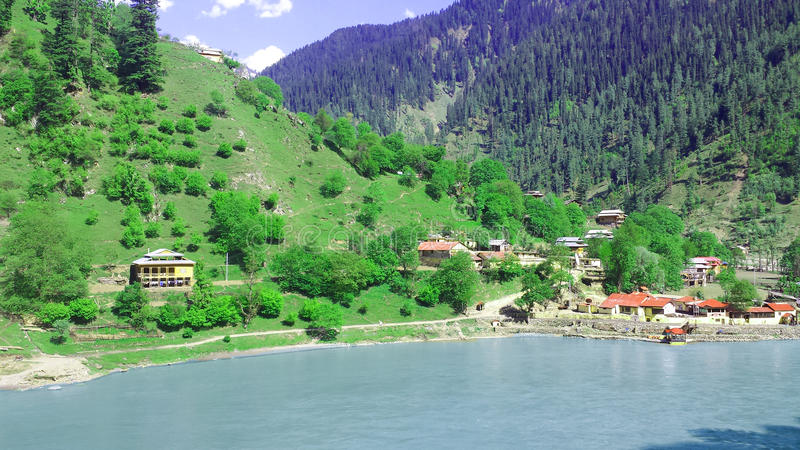 Neelum Valley Kashmir Pakistan. Neelum Valley is a beautiful place in Azaad Kashmir Pakistan where people come as tourist from all over the world royalty free stock images