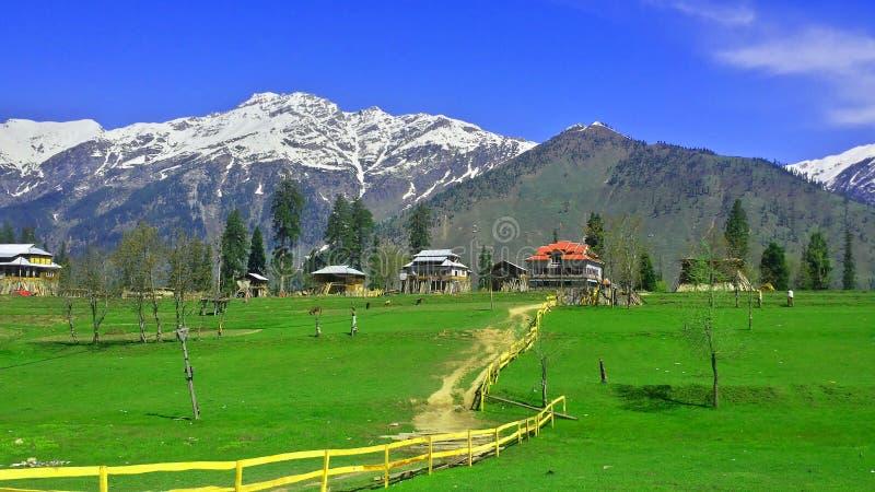 Neelumvallei Kashmir Pakistan royalty-vrije stock afbeeldingen