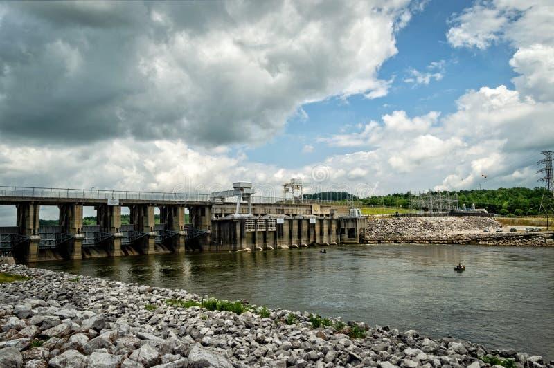 Neely запруда и электростанция Генри стоковые фото