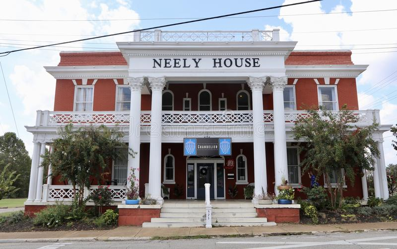 Neely Chambre, Jackson, Tennessee photos stock