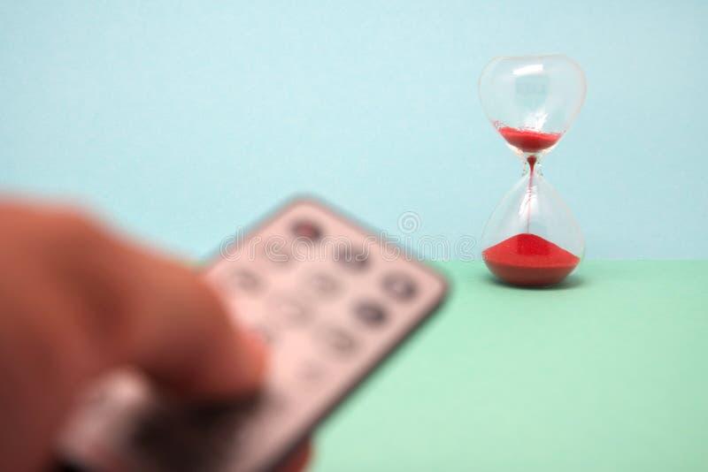 Neem controle, houd de tijd tegen royalty-vrije stock afbeeldingen