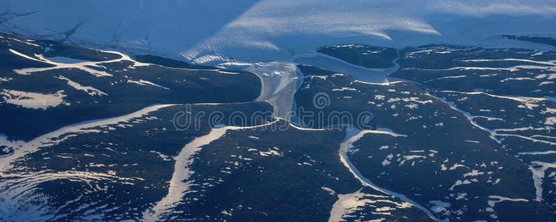 Neem een beeld van het ijs op bering straitï ¼ ˆ5ï ¼ ‰ stock foto