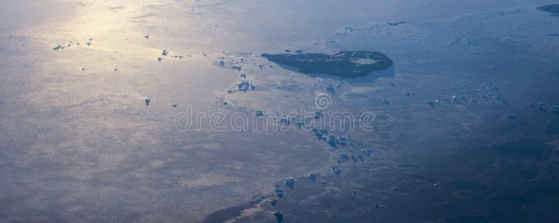 Neem een beeld van het ijs op bering straitï ¼ ˆ14ï ¼ ‰ stock foto's