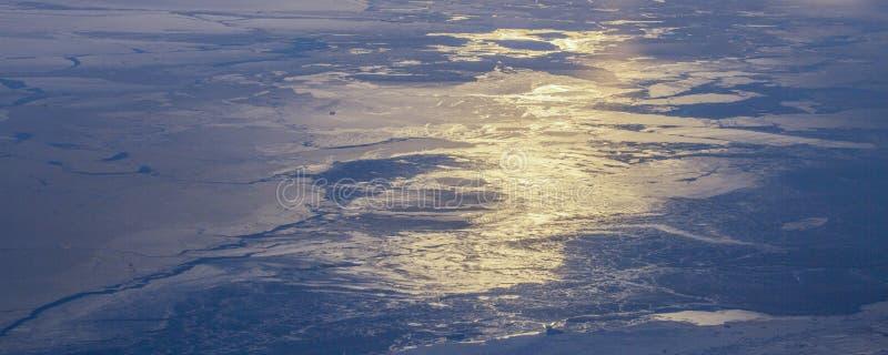 Neem een beeld van het ijs op bering straitï ¼ ˆ16ï ¼ ‰ stock afbeeldingen