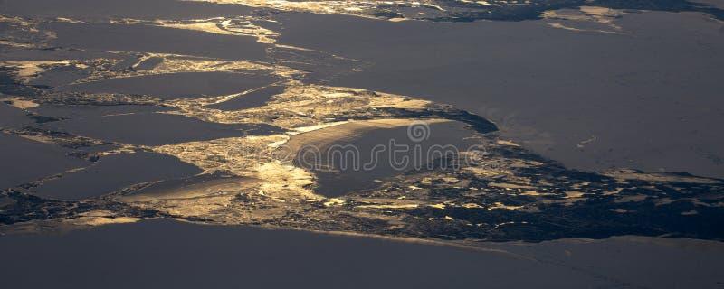 Neem een beeld van het ijs op bering straitï ¼ ˆ17ï ¼ ‰ stock afbeeldingen