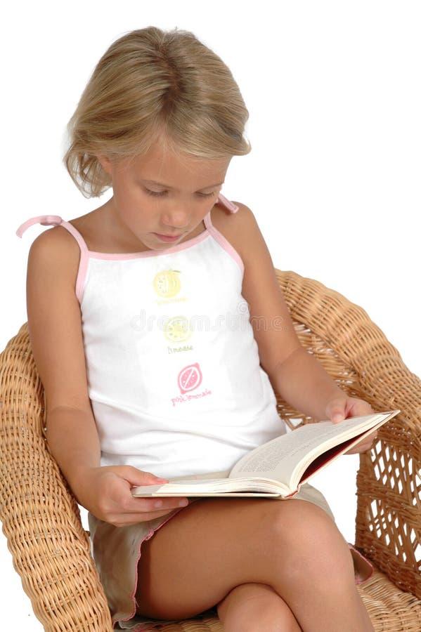 Neem een boek op stock afbeelding
