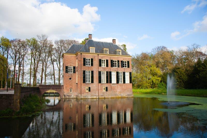 Neerijnen城堡 库存图片
