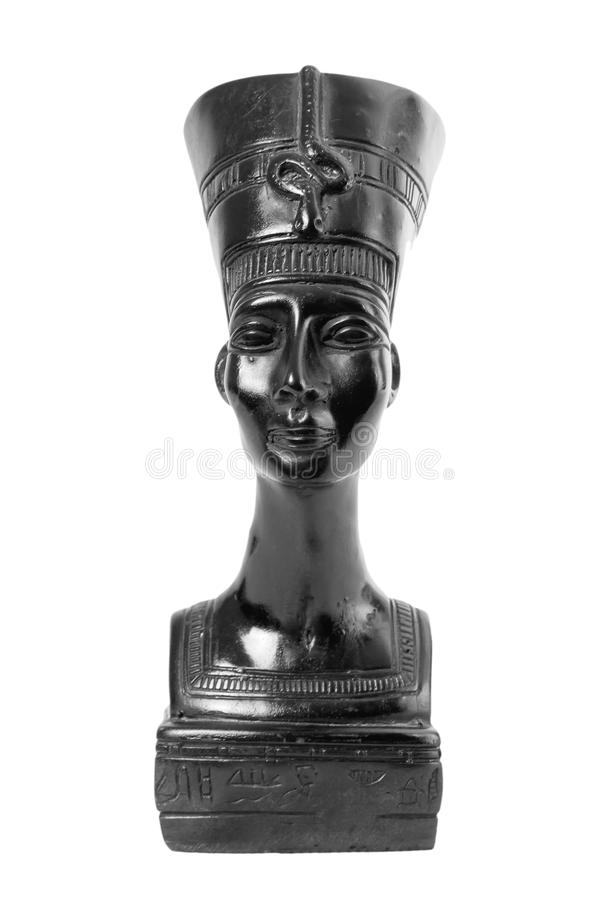 Nefertiti埃及人女王/王后胸象  库存照片