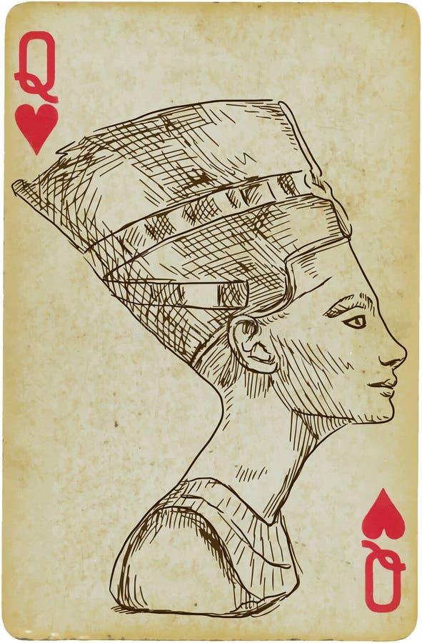 Nefertiti vektor abbildung