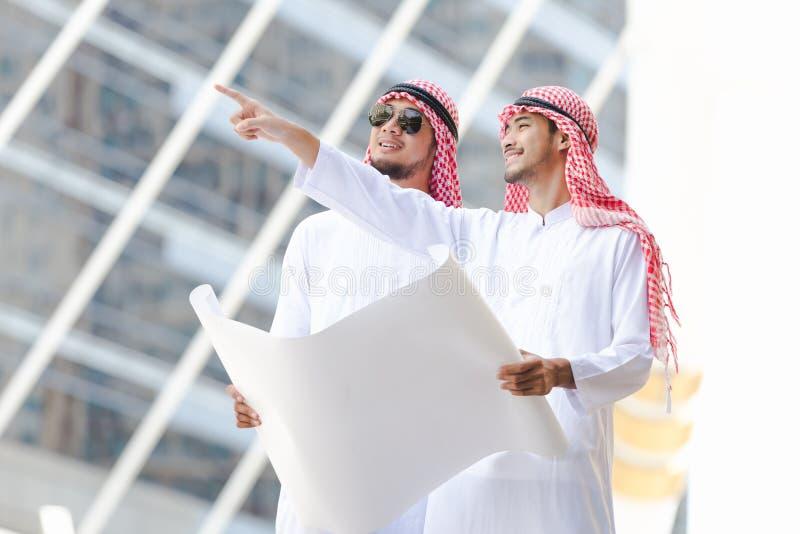 Negócio árabe foto de stock royalty free