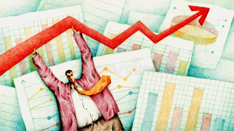 Negócio ilustração stock