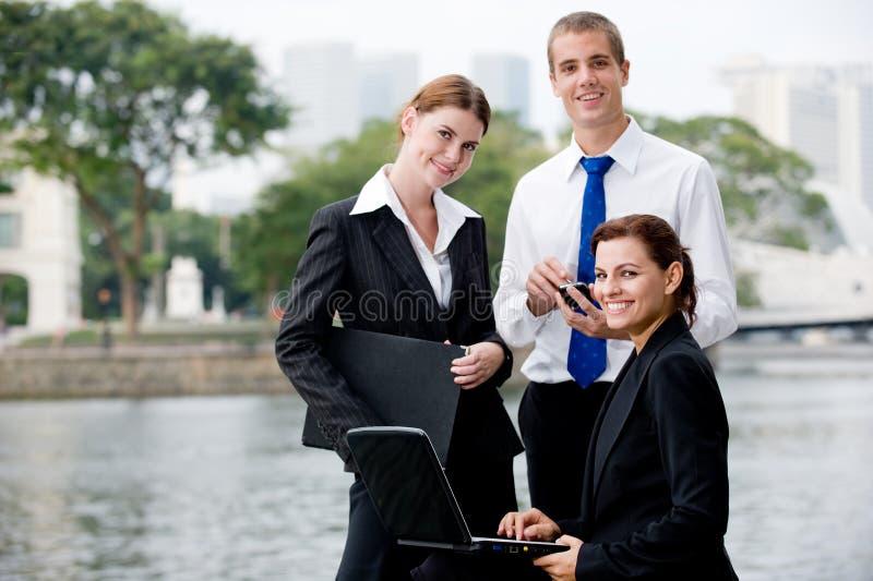 Negócio ao ar livre foto de stock