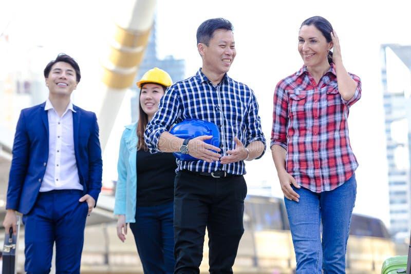 Negócio asiático do estilo de vida imagens de stock