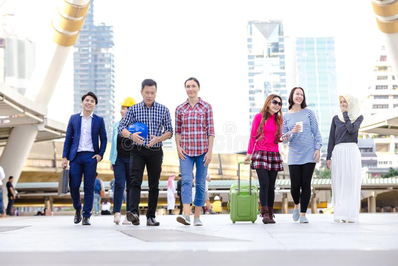 Negócio asiático do estilo de vida imagem de stock