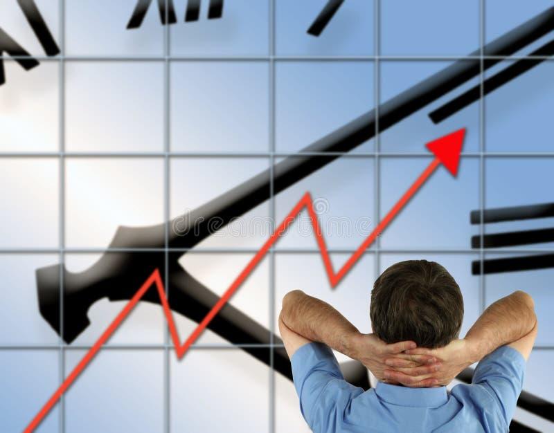Negócio bem sucedido foto de stock