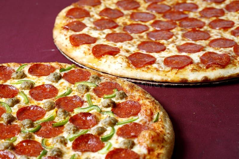 Negócio da pizza foto de stock royalty free