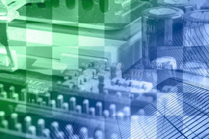 Negócio de computador imagens de stock
