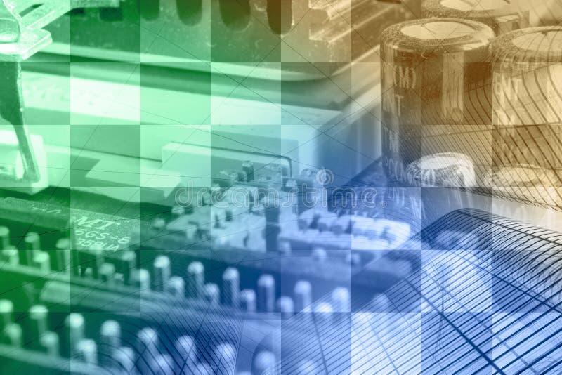 Negócio de computador fotografia de stock