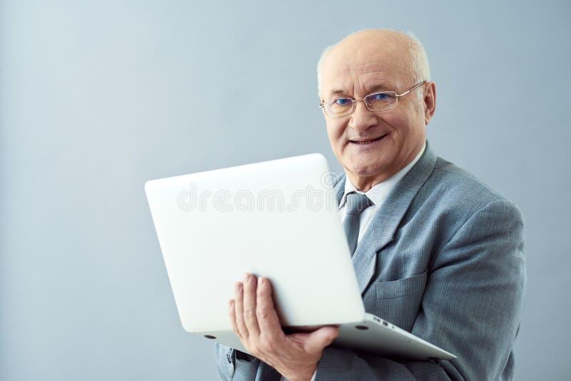 Negócio de expansão através do Internet fotos de stock