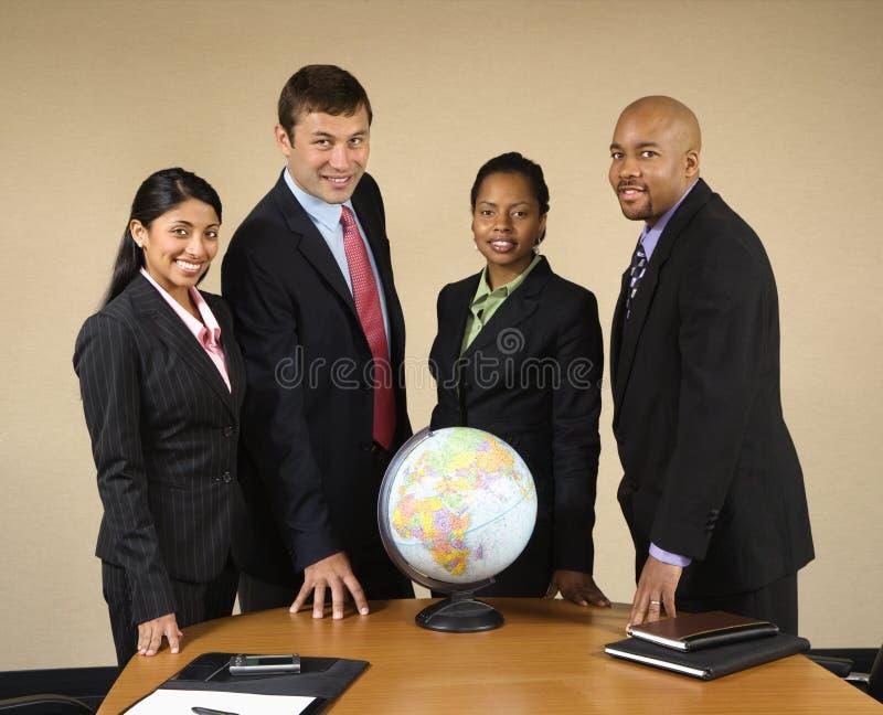 Negócio de mundo. imagem de stock