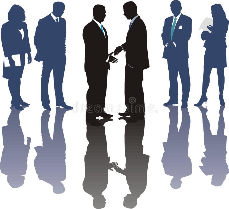 Negócio de negócio internacional ilustração do vetor