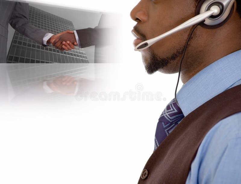 Negócio de uma comunicação imagens de stock royalty free