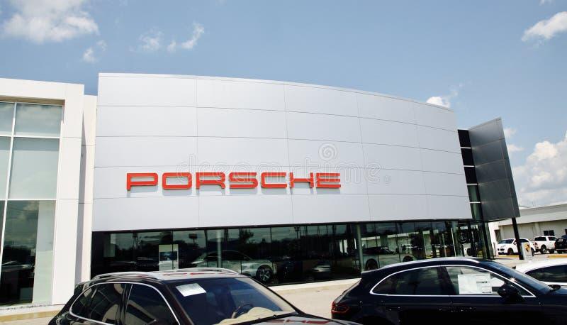 Negócio do fabricante de carro de Porsche foto de stock royalty free