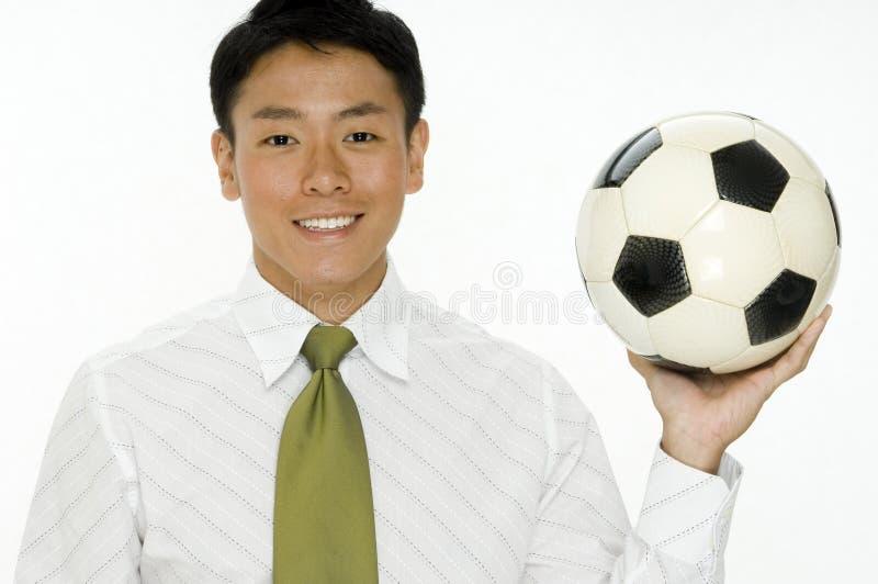 Negócio do futebol fotos de stock