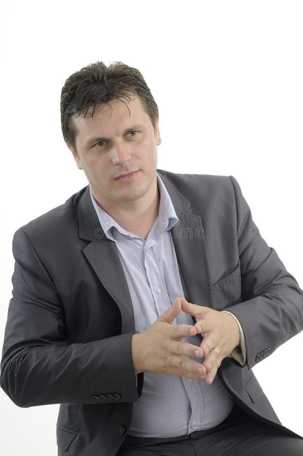 Negócio do homem de negócio foto de stock royalty free