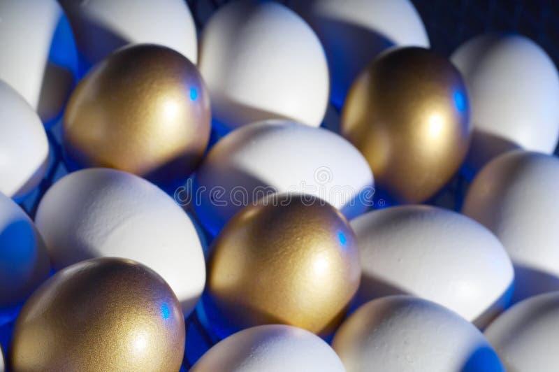 Negócio do ouro imagens de stock royalty free