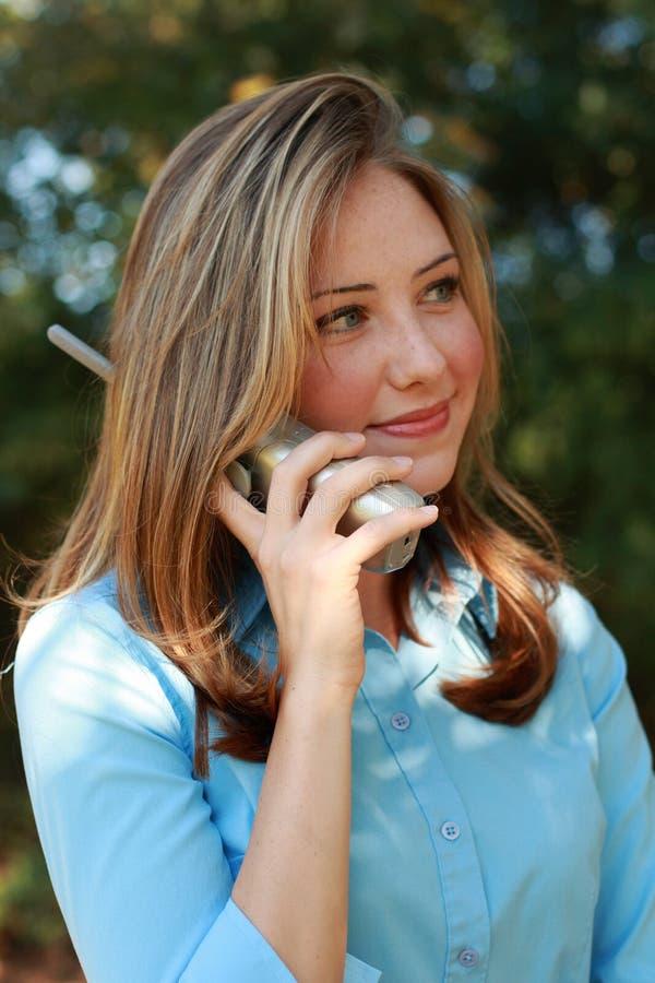 Negócio do telefone foto de stock